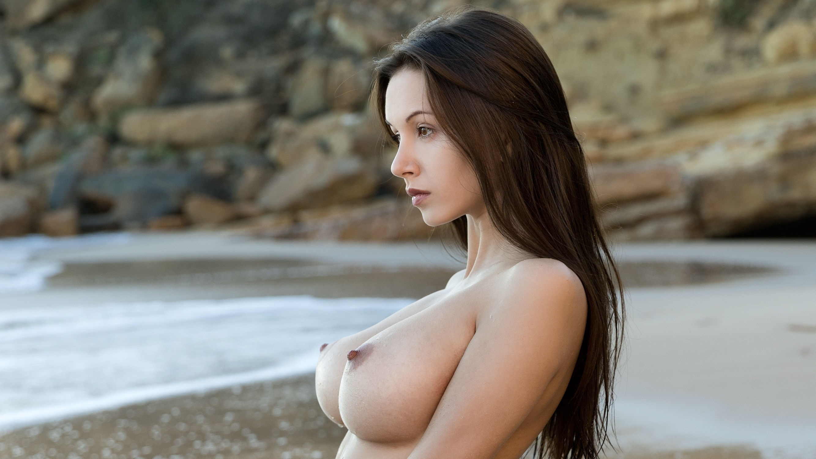 Brunette boobs girls #9